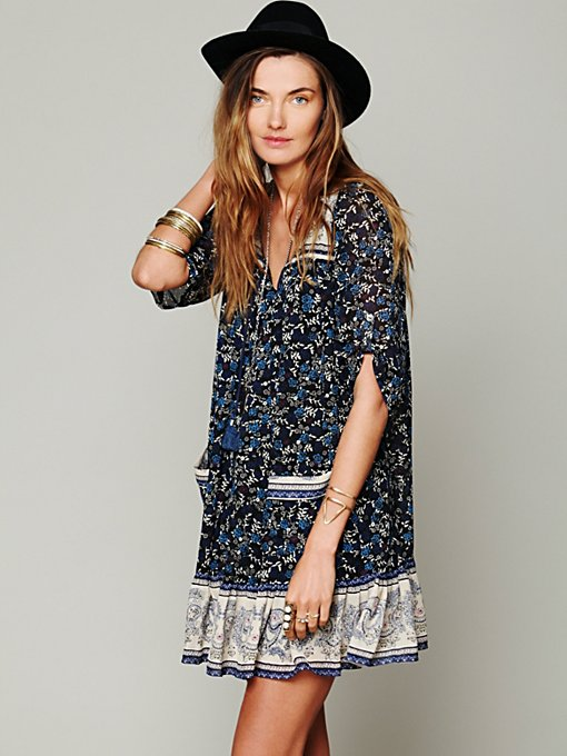 Penny Lane Chiffon Dress in clothes-dresses