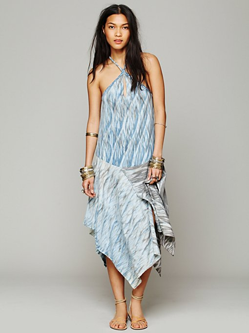 Free People Drop Waist Jersey Dress in Dresses