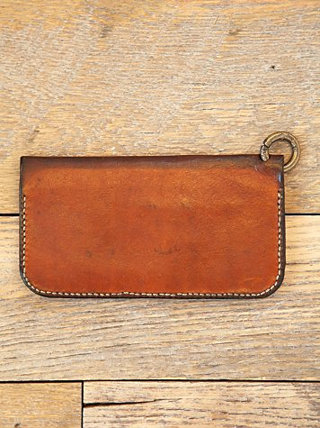Vintage Leather Duo Fold Wallet