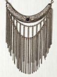 Stone Moon Fringe Collar
