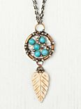 Turquoise Dream Catcher Pendant