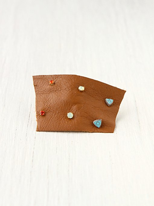 Tiny 6 Pack Studs in boutique-rings-earrings