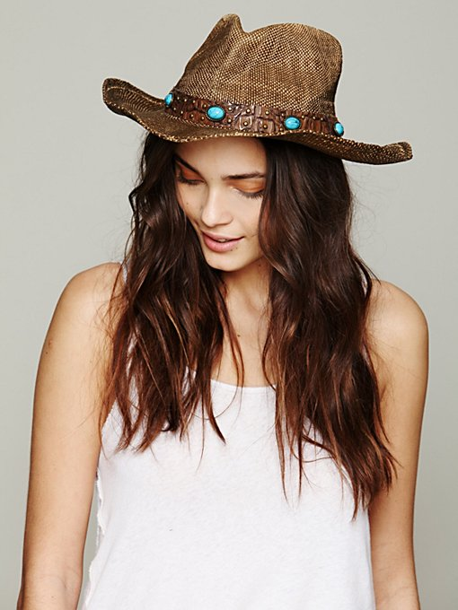Chicory Cowboy Hat in sun-hats