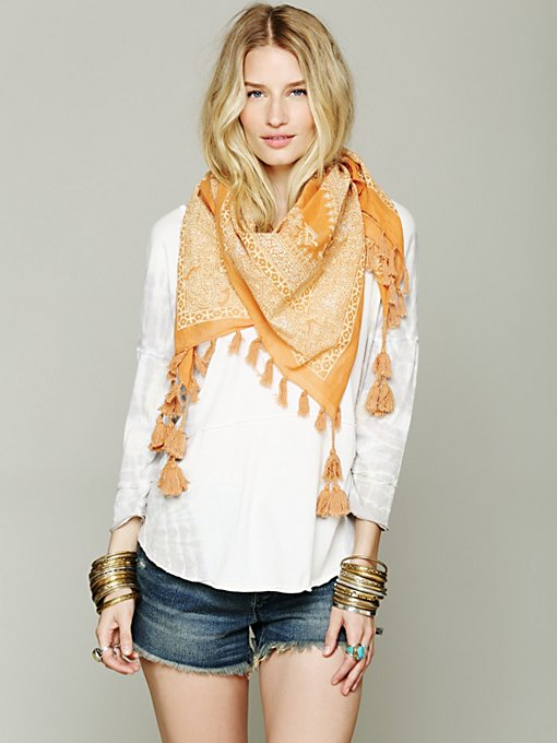 Bandana Triangle Scarf in accessories-scarves-ponchos-scarves