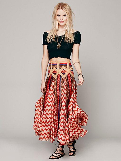 Lotta Stensson  Maracana Silk Skirt