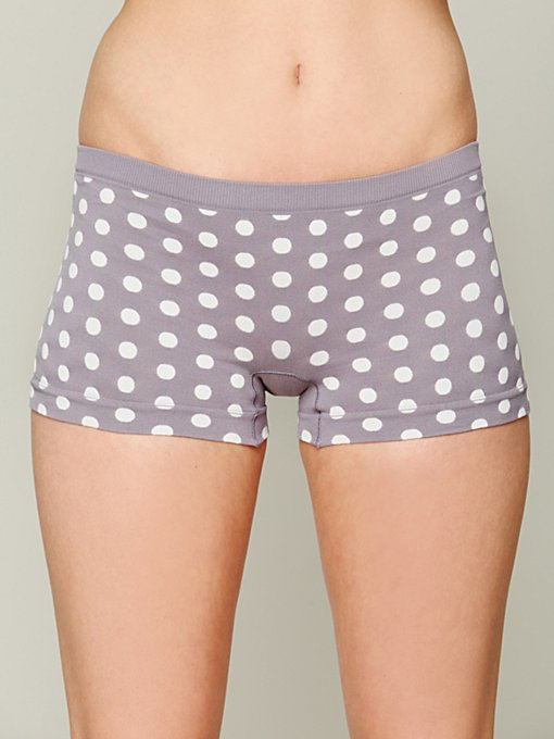 Intimately Dot Print Boyshort in underwear
