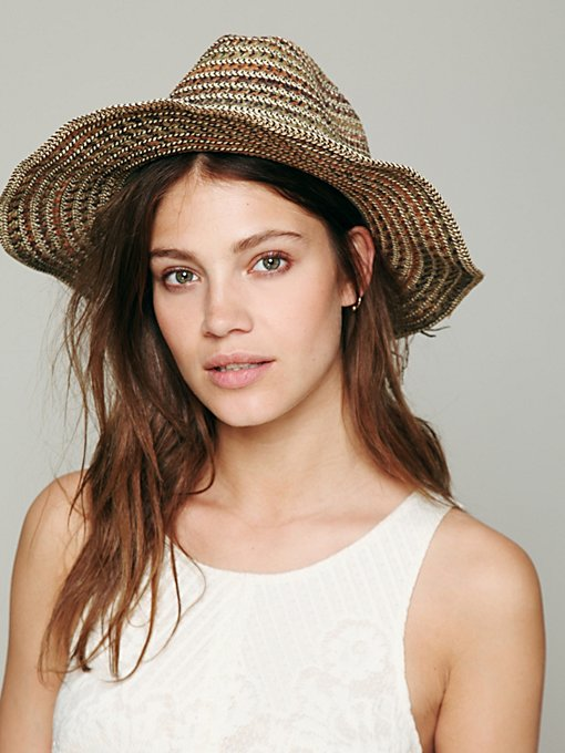 Melange Cowboy Hat in accessories-hats
