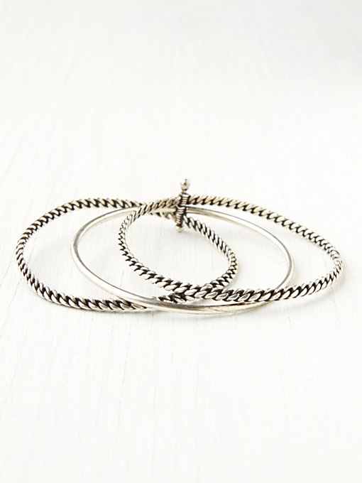 Chain Stack Bracelet Set in jewelry