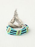 Summer Beaded Fringe Bracelet