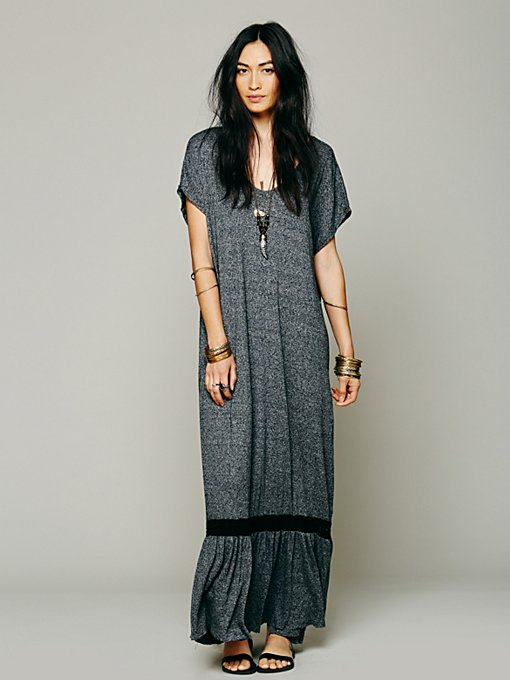 Free People Zella Dress in black-maxi-dresses