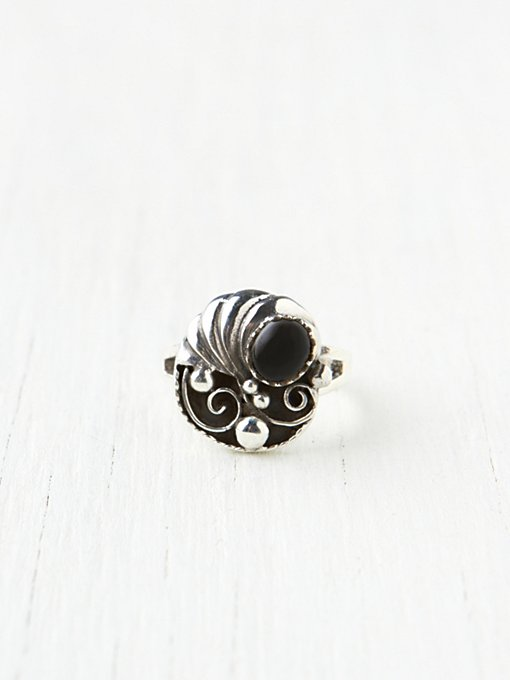 Ornate Stone Ring in boutique-rings-earrings