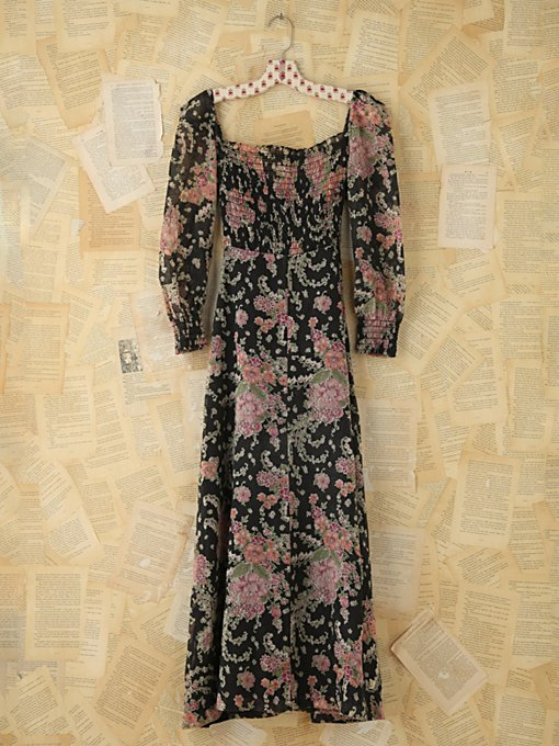 Vintage Floral Maxi Dress in Vintage-Loves-dresses
