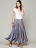 Blue Dream Striped Maxi