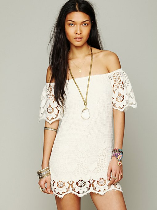 Off The Shoulder Truth Dress in clothes-tops