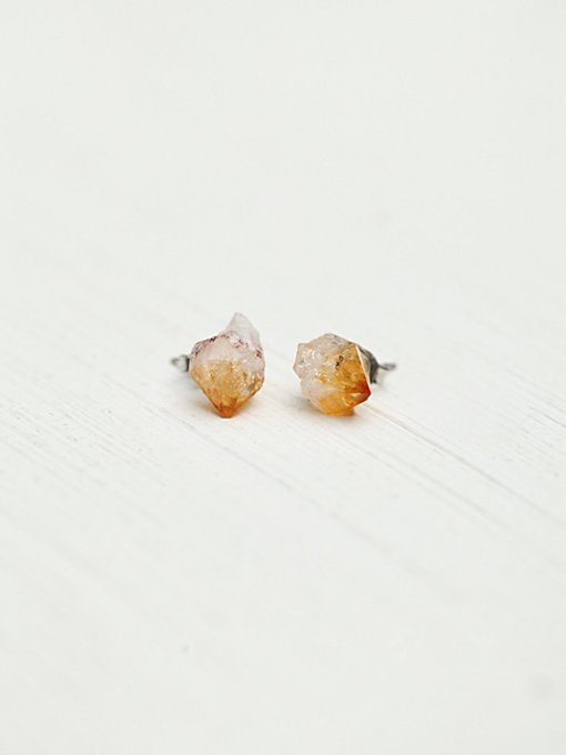 Meaningful Crystal Stud Earrings in jewelry