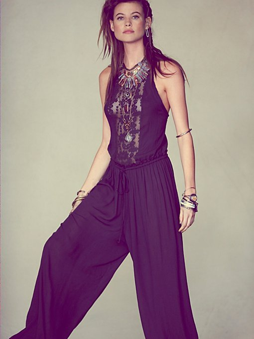 Free People Cool Breeze Romper in sleepwear