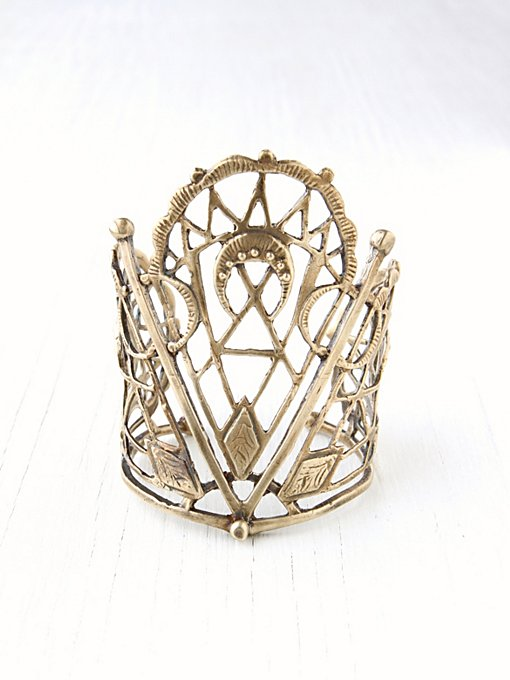 Sacred Geometry Cuff in accessories-jewelry-bracelets