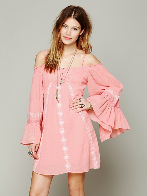 Free People Moonlight Kingdom Dress in One-Shoulder-Dresses