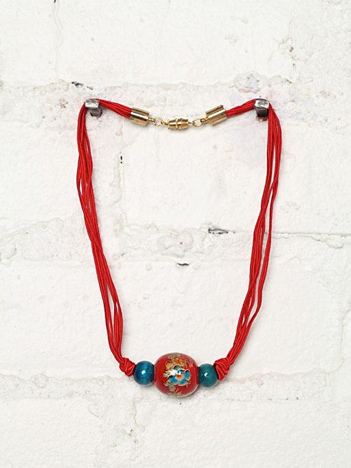 Free People Vintage Bead Necklace in Vintage-Jewelry
