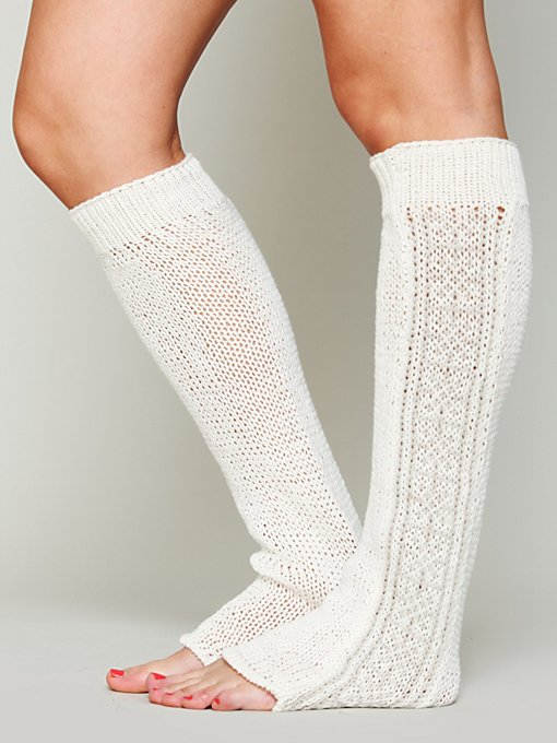 Pattern Legwarmer in accessories-socks-legwear