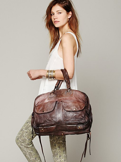 Washed Leather Tote in whats-new-accessories