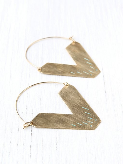 Sea Worthy Zand Earring in boutique-rings-earrings