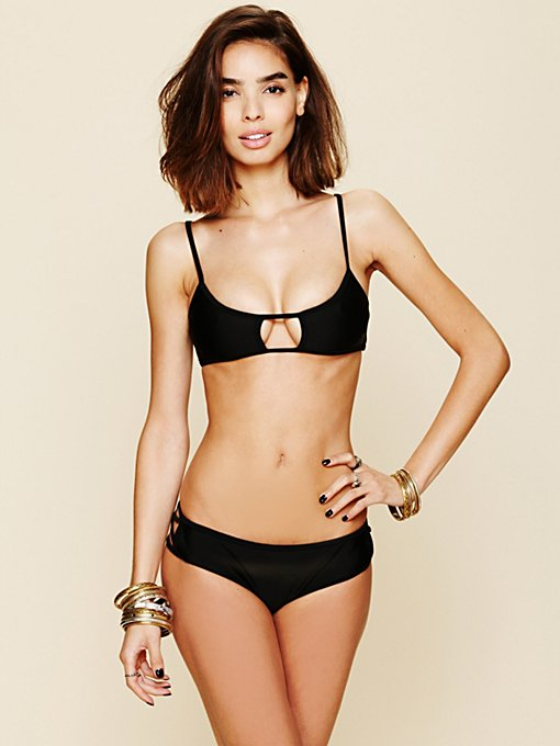 Lolli for Free People Side Cut Out Bottoms in swimwear