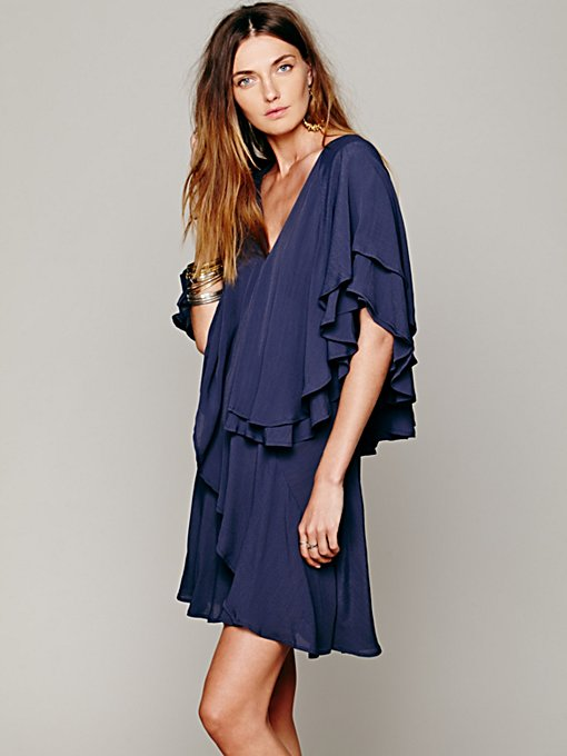 Shamita Ruffle Dress in night-out
