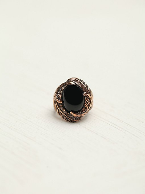 Menna Statement Stone Ring in rings