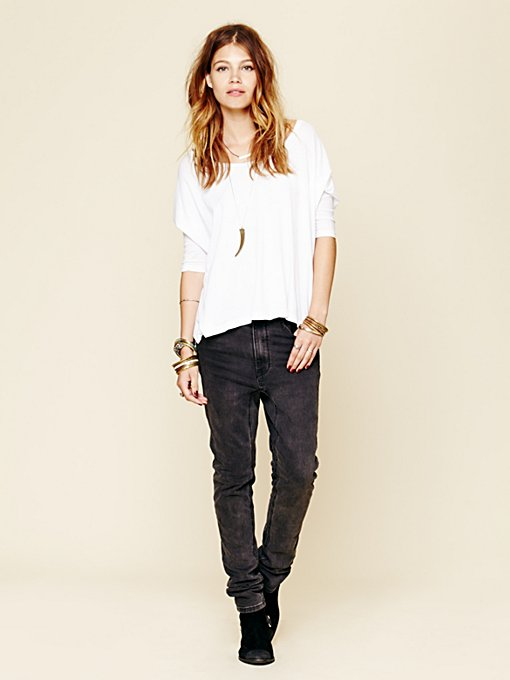 One Teaspoon  Runaway Slouch Skinny in Jeans