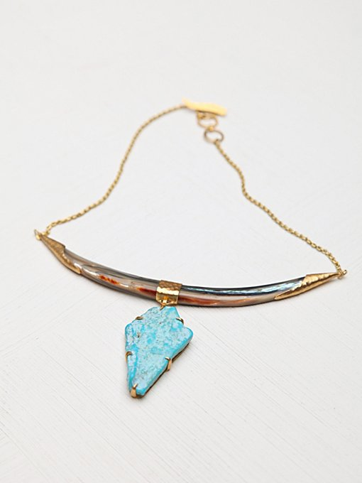 Heather Benjamin Rural Turquoise Collar in jewelry