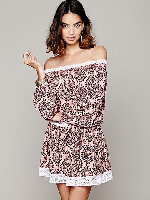 Sunday Romance Off-The-Shoulder Dress in whats-new-clothes