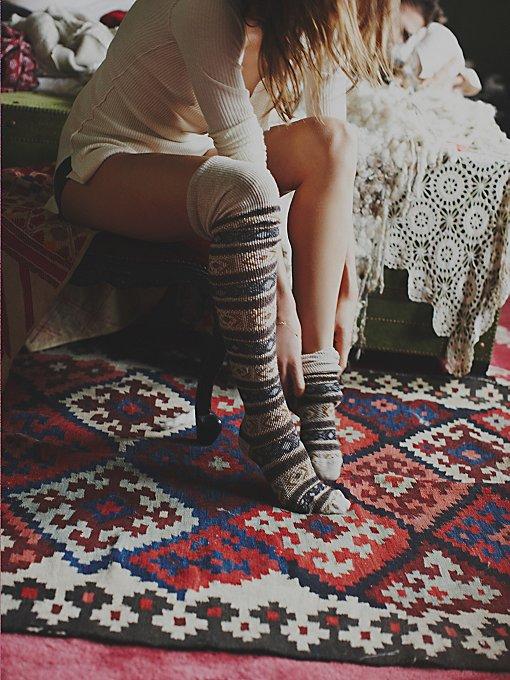 Hunting for Fairisle Tall Sock