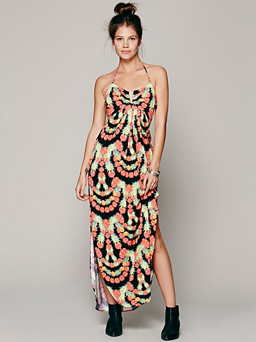 Mara Hoffman Garlands V-wire Maxi in Dresses