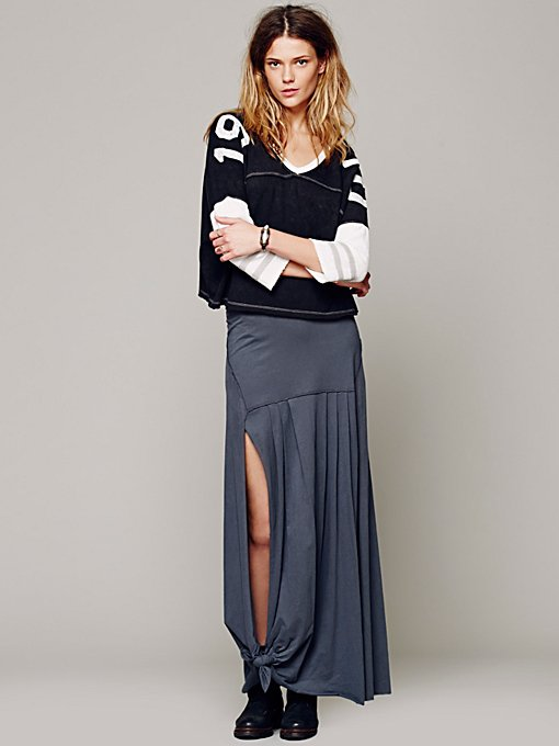 Free People Move Over Maxi Skirt