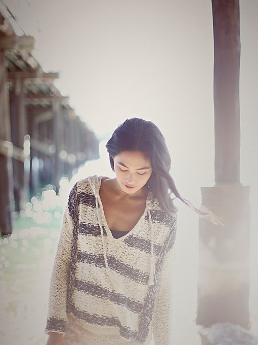 Free People Cali Love Hoodie Sweater