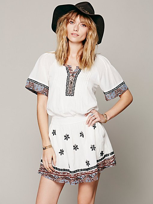 Free People Meet Me Marfa Dress in Dresses