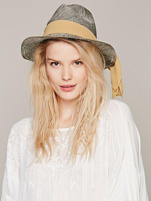 Raychel Straw Brim Hat