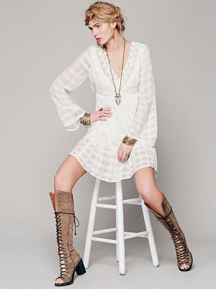 Free People Gentle Dreamer Dress   Pinterest Picks - Free People White Dresses