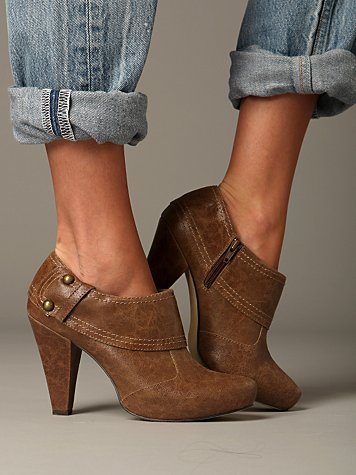 Rendezvous Ankle Bootie :  ankle boot fashion leather heel
